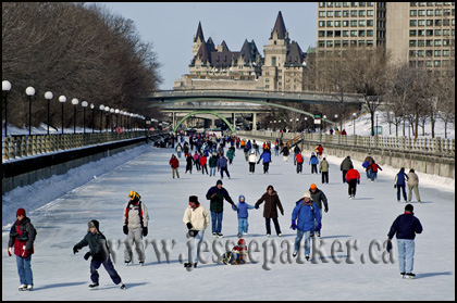 Winterlude on Canal
