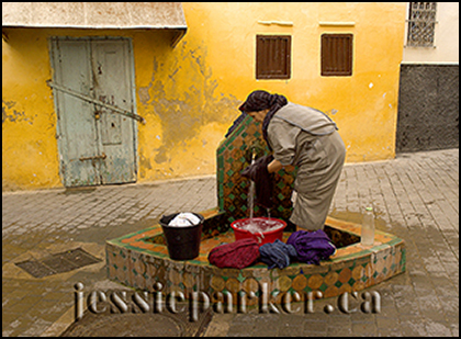 Woman at Well,Tangier